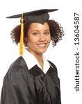 beautiful young woman smiling... | Shutterstock . vector #13604587