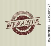 red bathing costume distressed... | Shutterstock .eps vector #1360504427