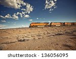 Cargo Locomotive Railroad...