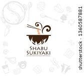 Shabu Sukiyaki Logo Icon...