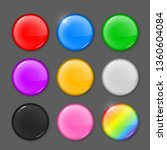 set of colored round blots....