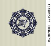 blue social network icon inside ... | Shutterstock .eps vector #1360605971