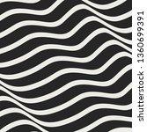 wave shape pattern design | Shutterstock .eps vector #1360699391