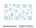 human genetic engineering...   Shutterstock .eps vector #1360715561