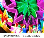 beautiful electric light photo | Shutterstock . vector #1360733327