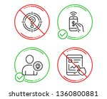 do or stop. phone payment ... | Shutterstock .eps vector #1360800881