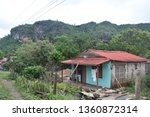 building in the valley of vi... | Shutterstock . vector #1360872314