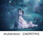 Brunette girl ghost and spirit...