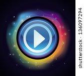 vector abstract background in... | Shutterstock .eps vector #136097294
