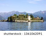 lombardy  italy. isola bella... | Shutterstock . vector #1361062091