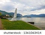 stresa coast  lombardy  italy.... | Shutterstock . vector #1361063414