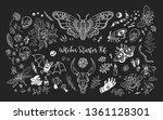 starter witch kit. magic...   Shutterstock . vector #1361128301