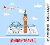 London Travel Poster  Banner...