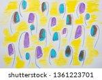 bell flower pattern | Shutterstock . vector #1361223701