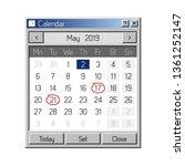 calendar application in style...