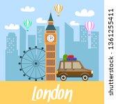 London Travel Postcard ...