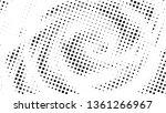 halftone gradient pattern.... | Shutterstock .eps vector #1361266967