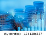 financial investment concept ... | Shutterstock . vector #1361286887