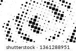 halftone gradient pattern.... | Shutterstock .eps vector #1361288951