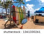 honolulu  hawaii   march 31 ... | Shutterstock . vector #1361330261