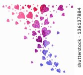 Heart Background. Elements For...