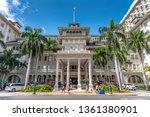 honolulu  hawaii   april 1 ... | Shutterstock . vector #1361380901