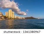 honolulu  hawaii   april 1 ... | Shutterstock . vector #1361380967