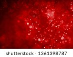 Glitter Lights Red Abstract...