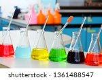 chemical tube set development... | Shutterstock . vector #1361488547