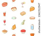 food images. background for... | Shutterstock .eps vector #1361512547