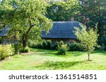 ancient construction in the...   Shutterstock . vector #1361514851