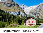 western alps are the western...   Shutterstock . vector #1361515694