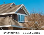 the top of the house or... | Shutterstock . vector #1361528081