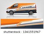 van wrap design. wrap  sticker...   Shutterstock .eps vector #1361551967