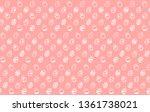 easter egg seamless pattern.... | Shutterstock .eps vector #1361738021