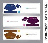 banner background.business...   Shutterstock .eps vector #1361784137