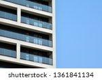 modern european residential... | Shutterstock . vector #1361841134