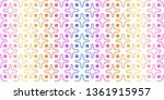 unique  abstract geometric... | Shutterstock .eps vector #1361915957