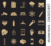 petrol icons set. simple set of ... | Shutterstock .eps vector #1362021857