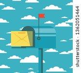 retro vinatge styed mail box....