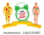 weight loss concept. time to... | Shutterstock .eps vector #1362125387
