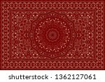 vintage arabic pattern. persian ...   Shutterstock .eps vector #1362127061
