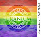 uranium on mosaic background...   Shutterstock .eps vector #1362138341