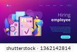 company hr managers hiring a... | Shutterstock .eps vector #1362142814