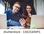 positive successful diversity...   Shutterstock . vector #1362160691