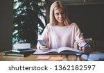 successful female organisator...   Shutterstock . vector #1362182597