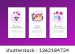 technical support guys working... | Shutterstock .eps vector #1362184724
