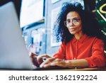 portrait of attractive afro...   Shutterstock . vector #1362192224