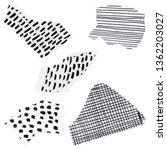 ripped pieces of paper for... | Shutterstock . vector #1362203027