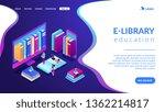 huge computer and smartphone... | Shutterstock .eps vector #1362214817